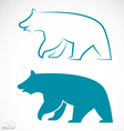 image of an bear vector image vector image