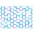 seamless pattern hexagonal net vector image