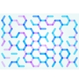 Seamless pattern of the hexagonal net vector image