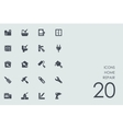 Set of home repair icons vector image