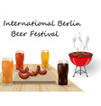 festival of beer different types of beer in vector image vector image