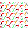 pepper seamless pattern flat modern stlyle vector image
