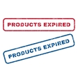 Products Expired Rubber Stamps vector image vector image