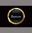 black buttons with metallic vector image