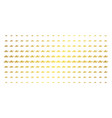 military tank gold halftone grid vector image