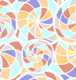 Abstract seamless texture with spiral elements vector image vector image
