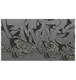 Alleyway Graffiti Background vector image vector image
