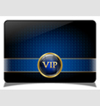 Blue vip card vector | Price: 1 Credit (USD $1)