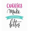Dessert shop promotion motivation advertising vector image vector image