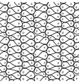 Doodle abstract mesh Seamless pattern vector image vector image
