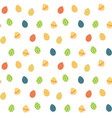 easter eggs seamless pattern easter repeat vector image
