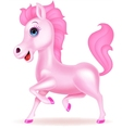 Funny Fairy horse cartoon vector image
