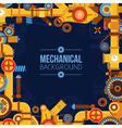 Machinery Parts Background vector image vector image