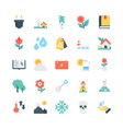 Nature and Ecology Icons 3 vector image