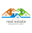 real estate1 9 vector image vector image