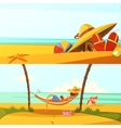 Summer Holiday Banners Set vector image vector image