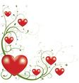 valentines day element vector image