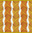 autumn seamless pattern ethnic ornamental vector image vector image