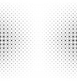 black and white circle pattern - geometric vector image vector image