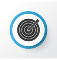 darts icon symbol premium quality isolated aim vector image vector image