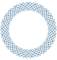Decorative circle vector image