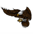 eagle wing for usa independence day 4 th vector image vector image
