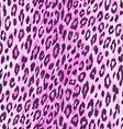 leopard skin pattern vector image vector image