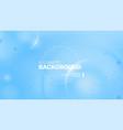 liquid color background design fluid blue vector image vector image