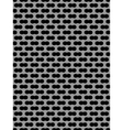 Metal grid seamless pattern vector image vector image