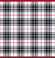 navy blue and red tartan plaid seamless pattern vector image vector image