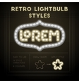 Retro lightbulb styles