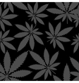 Seamless pattern - Marijuana cannabis vector image vector image