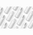 template realistic cosmetics spray bottles vector image