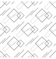 abstract seamless geometric pattern with squares vector image vector image