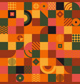 ethnic geometric pattern geometric background vector image