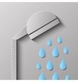 Head Shower vector image
