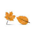 hello autumn autumn leaves big autumn sale 50 off vector image vector image