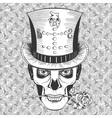 human baron samedi vector image vector image