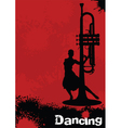 jazz rhythms vector image vector image