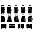 Luggage vector image vector image