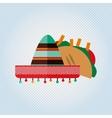 Mexican culture icon design