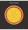 Pizza cheese vector image vector image