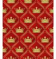 royal border vector image vector image