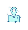 travelling icon design vector image