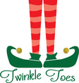 Twinkle Toes vector image