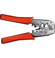 Crimping Tool vector image