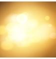 gold bokeh background vector image