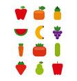 organic food vector image vector image