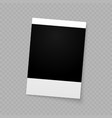 photo frame for internet sharing vector image