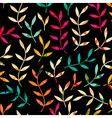 Seamless leaf patternLeaf background Autumn vector image